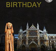 The Scream World Tour Westminster Abbey Happy Birthday by Eric Kempson