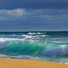 Turquoise Wave by Arthur Koole