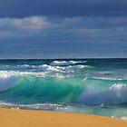Turquoise Wave by Arthur Koole