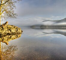 Coniston Water,The Optical Illusion.. by Jamie  Green
