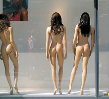 Manhattan Mannequins by Lisa Diamond