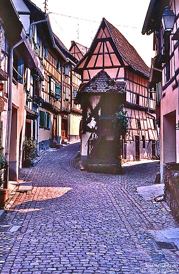 Riquewihr by David Davies