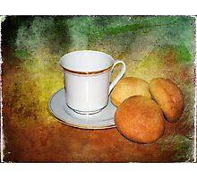 Tea Cup Still Life Photographic Print
