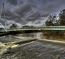 Bridge over the Exe by Rob Hawkins