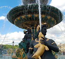 Place de la Concorde Fountain by ScottishVet