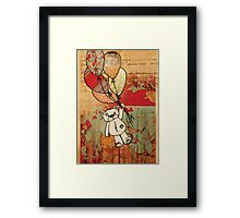 patch bear 2 Framed Print