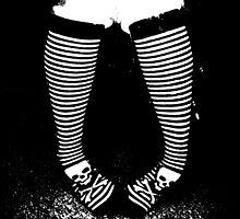 Stripy Socks by kitty93