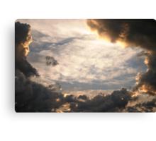 Stormy Nebraska Sky Canvas Print