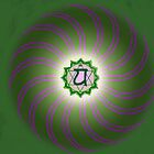 Heart Chakra ~ Green ~ Anahata ~ Male by Julia Harwood