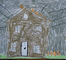 Christchurch Earthquake by Daisy Pepper 7 1/2 by Beverley  Johnston