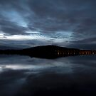 A cold evening at The Lake by Peter Doré