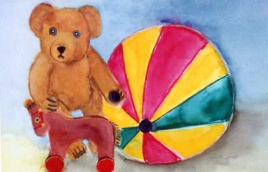 Teddy and toys every child loves by Heidi Mooney-Hill