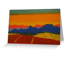 The pyrenees  Greeting Card