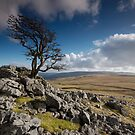 Above Malham Moor by Andrew Leighton