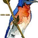 Sialia Sialis (#3) Eastern Bluebird by Carol Kroll