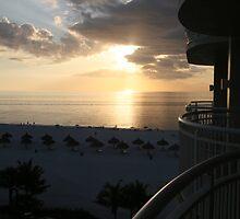 Western Sun - Marco Island, Florida by Cari Graves