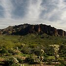 Superstition Mountain ~ Apache Trail, Arizona by Kimberly P-Chadwick