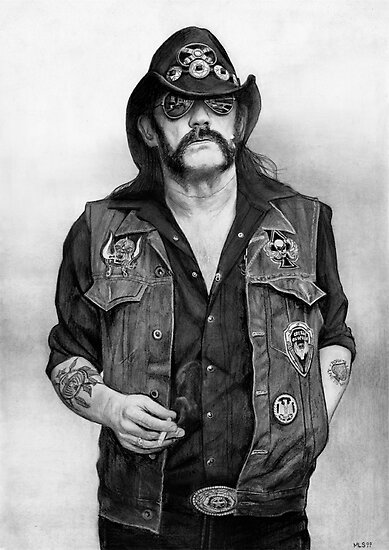 Lemmy by Martin Lynch-Smith