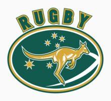 Rugby Wallabies Australia by patrimonio