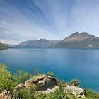 Lake Wakatipu - South Island, New Zealand by Vickie Burt