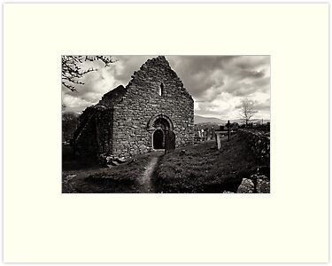 Ullard Church, near Graiguenamanagh, County Kilkenny, Ireland by Andrew Jones