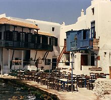Greek taverna. by prema
