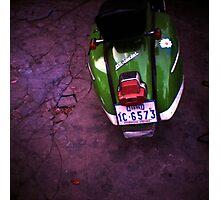 vespa, phnom penh, cambodia Photographic Print