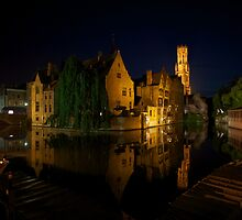 Night in Bruges by Laurence Manly