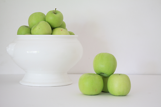 Little Green Apples by Elaine Teague
