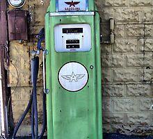 Retro Gas Pump by James Brotherton