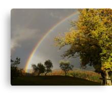 Tuscany Rainbow Canvas Print