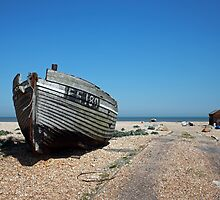 Dungeness Fishing Boat by Liz Garnett