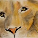 The eyes of the lion by frithjof