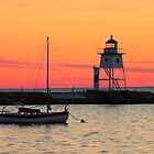 Sunset at Grand Marais by JimGuy