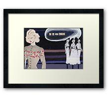Adult Alphabet: The Letter G Framed Print
