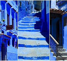 The Blue City IV by Damienne Bingham