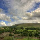 PENDLE HILL BIG SKY by Phil  WEBB