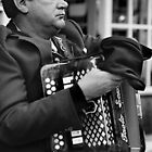 Blind Busker, Galway by Tim Collier