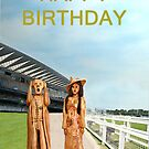 The Scream World Tour with Fashion Ascot Races Happy Birthday by Eric Kempson