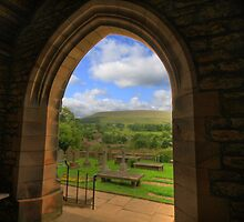FINEST VIEW FROM ANY CHURCH IN ALL OF CHRISTENDOM by Phil  WEBB