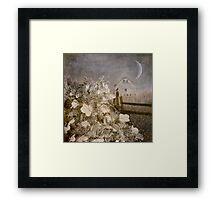 Hydrangea Hill Framed Print