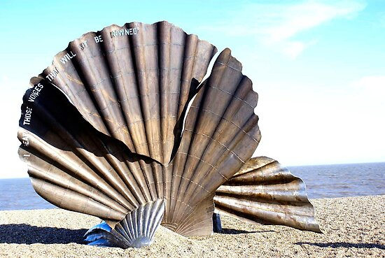 """I hear the voices..."" Aldeburgh Beach, UK by sherylb1"