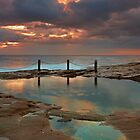 Ivo Rowe Pool - Sunrise by Mark  Lucey