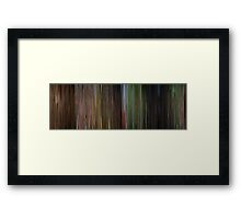 Moviebarcode: The Wizard of Oz (1939) Framed Print
