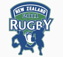 New Zealand rugby world cup 2011 ball shield by patrimonio