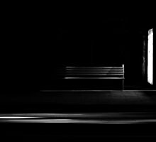 Bus Stop with passing Car by sedge808