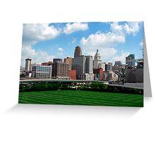 Cincinnati SkyLine 2 Greeting Card