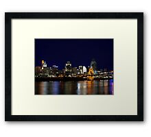 Cincinnati SkyLine 4 Framed Print