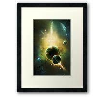 White Dwarf Explosion Framed Print