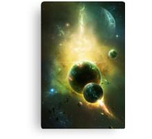 White Dwarf Explosion Canvas Print